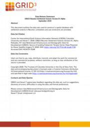 thumnail for Data Release Statement GRID3 REU Settlement Extents V1 Alpha.pdf