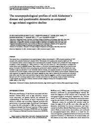 thumnail for Vliet-2003-The neuropsychological profiles of.pdf