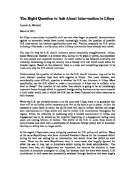 thumnail for The_Right_Question_to_Ask_About_Intervention_in_Libya.pdf