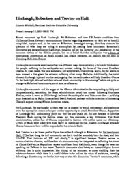 thumnail for Limbaugh__Robertson_and_Trevino_on_Haiti.pdf