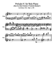 thumnail for Prelude__1_for_Solo_Piano.pdf