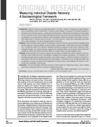 thumnail for Measuring_Individual_Disaster_Recovery_SocioEco_Framework_Abramson_et_al_DMPHP_2010.pdf