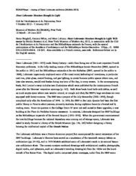 thumnail for D-A-Riedel-MoMA-Labrouste-SHARPNews2013Original.pdf