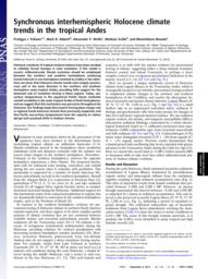 thumnail for Polissar_et_al__2013___2412__Synchronous_interhemispheric_Holocene_climate_trends_in_the_tropical_Andes.pdf