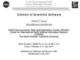 thumnail for DownsCitationScientificSoftware20140709.pdf