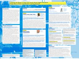 thumnail for Scherling_Poster_Presentation_Lowering_the_Barrier_to_Entry_Into_South_African_Higher_Education.pdf
