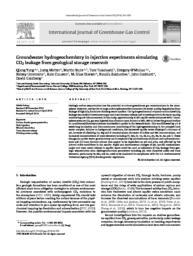 thumnail for Yang_CO2_field_injection_hydrogeochemistry_IJGGC_2014.pdf