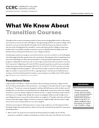 thumnail for what-we-know-about-transition-courses.pdf