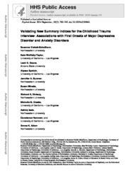 thumnail for Vrshek-Schallhorn_Psychol_Assess_2014_PMC.pdf