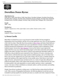 thumnail for Dorothea Donn-Byrne – Women Film Pioneers Project.pdf