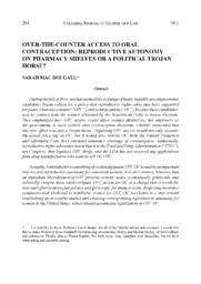 thumnail for Over-the-Counter_Access_to_Oral_Contraception.pdf
