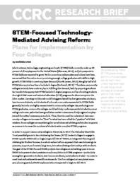 thumnail for stem-focused-technology-mediated-advising-reform.pdf