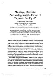 thumnail for Marriage__Domestic_Partnership__and_the_Future_of_Separate_but_Equal.pdf