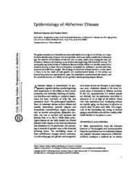 thumnail for Mayeux-2012-Epidemiology of Alzheimer disease.pdf