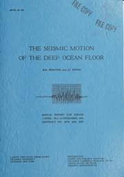 thumnail for seismicmotionofd00pres.pdf
