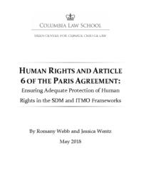 thumnail for Webb-Wentz-2018-05-Human-Rights-and-Article-6-of-the-Paris-Agreement.pdf