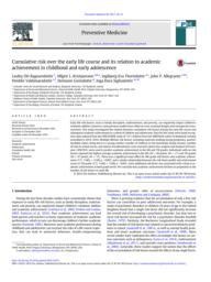 thumnail for Ragnarsdottir et al. - Cumulative Risk Over the Early Life Course - Prev Med 2017.pdf