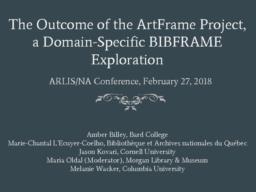 thumnail for ARLIS ArtFrame Session 2018.pdf