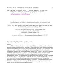 thumnail for Levy et al., 2016, Vowel intelligibility CDQ.pdf
