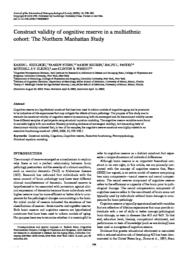 thumnail for Siedlecki-2009-Construct validity of cognitive.pdf
