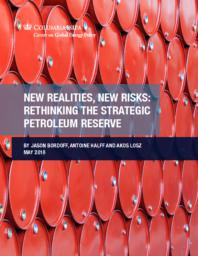 thumnail for CGEP_New Realities_ New Risks_ Rethinking the Strategic Petroleum Reserve.pdf