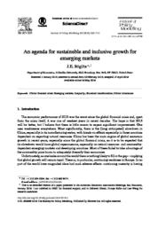 thumnail for An agenda for sustainable and inclusive growth.pdf