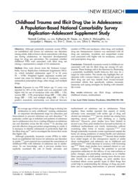 thumnail for Carliner_Childhood Trauma and Illicit Drug Use in Adolescence A Population-Based National Comorbidity Survey Replication-Adolescent Supplement Study..pdf