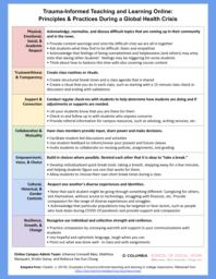 thumnail for Trauma Informed Teaching and Learning During a Global Health Crisis.pdf