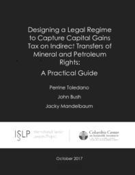 thumnail for Designing a legal regime to capture capital gains tax- CCSI - ISLP - Oct 2017 (1).pdf