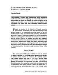 thumnail for Redefining Sex Work in the Republic of Georgia.pdf