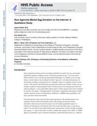 thumnail for Klitzman_How Agencies Market Egg Donation on the Internet_A Qualitative Study.pdf