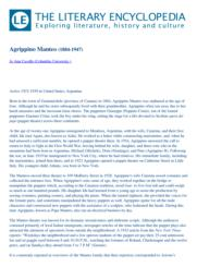 thumnail for Agrippino_Manteo_by__from_the_Literary_Encyclopedia_20-03-2012 (1).pdf