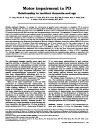 thumnail for Levy-2000-Motor impairment in PD_ relationship.pdf