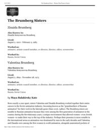 thumnail for The Brumberg Sisters – Women Film Pioneers Project.pdf