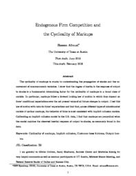 thumnail for Endogenous-Firm-Competition-and-Cyclicality-of-Markups-.pdf