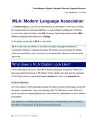 thumnail for MLA-Modern Language Association.pdf