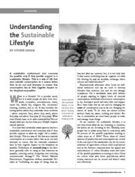 thumnail for Article_Understanding the Sustainable Lifestyle.pdf