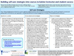 thumnail for Marquart and Counselman-Carpenter_EDC-RFPES 2019_Supporting ourselves and others by encouraging self-care_Strategies that educational developers can build into courses for instructors and students and consider using ourselves.pdf