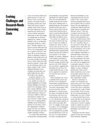 thumnail for Klitzman_Evolving Challenges and Research-Needs Concerning Ebola.pdf