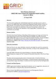 thumnail for DataReleaseStatement_GRID3_ DRC_HLT_HealthFacilities_V01Beta.pdf