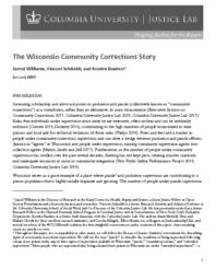 thumnail for Wisconsin Community Corrections Story final online copy.pdf