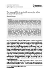 thumnail for The responsibility to protect in congo the failure of grassroots prevention.pdf