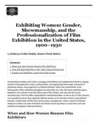 thumnail for ExhibitingWomen_WFPP.pdf