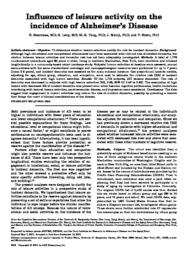 thumnail for Scarmeas-2001-Influence of leisure activity on.pdf