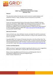 thumnail for Data Release Statement GRID3 TGO Settlement Extents V1 Alpha.pdf