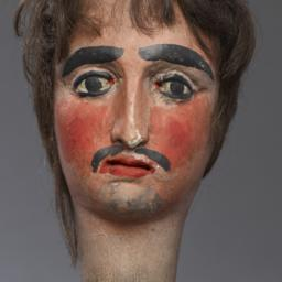 Head Of Male Hand Puppet Wi...