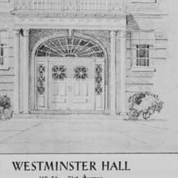 Westminster Hall, 110-56 71...