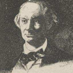 Portrait of Charles Baudela...