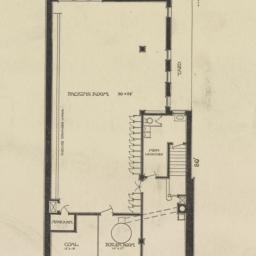 Basement plan. Rivington St...