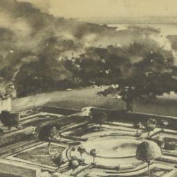 Stanford White's Garden. [A...